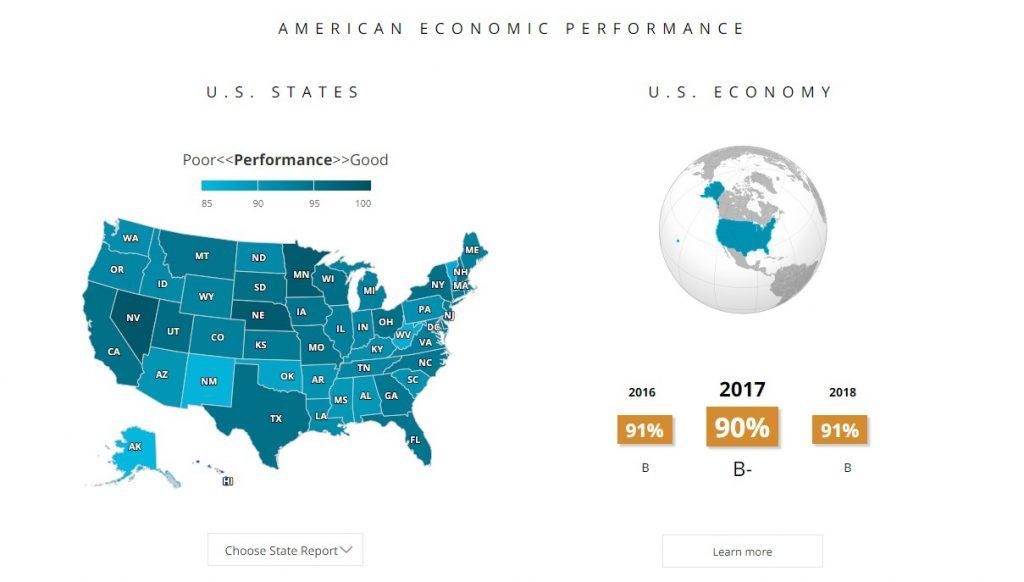 5-Minute Economist interactive map