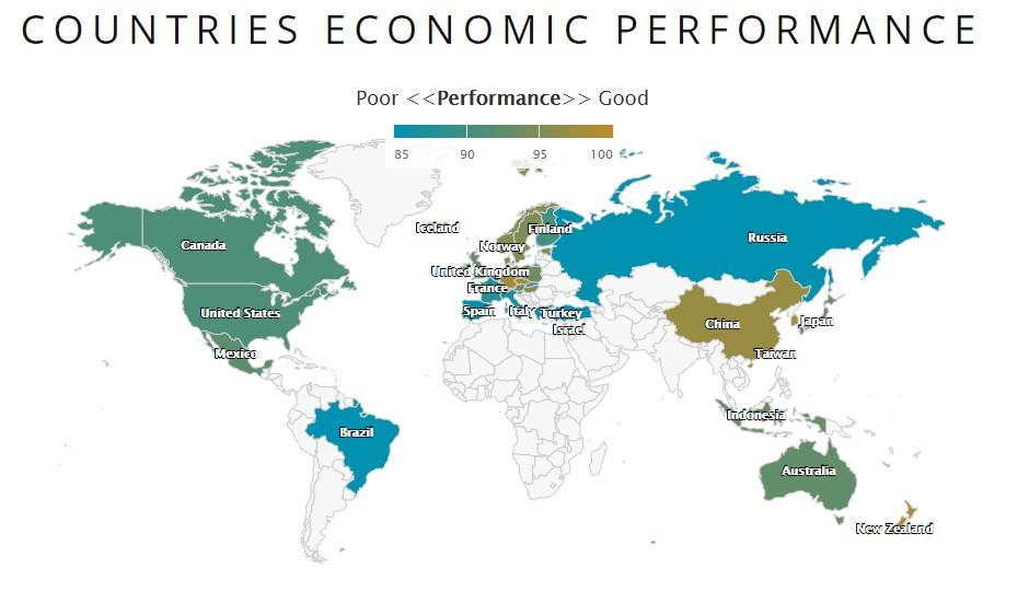 5-Minute Economist: interactive map